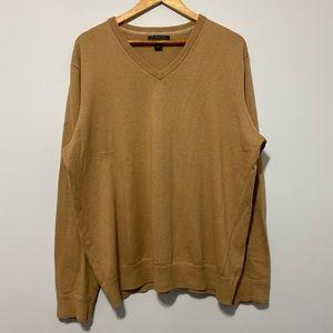 Banana Republic Vneck Cashmere blend Sweater size XL